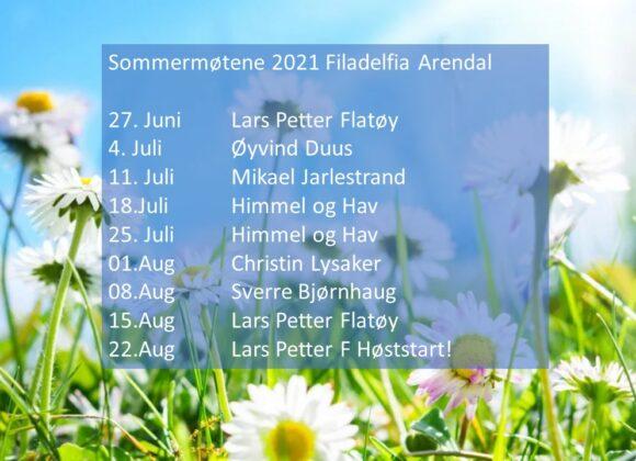 Sommermøter 2021